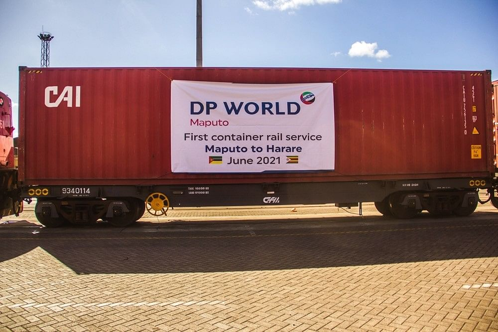 DP World Maputo Launches Rail Service between Maputo & Harare