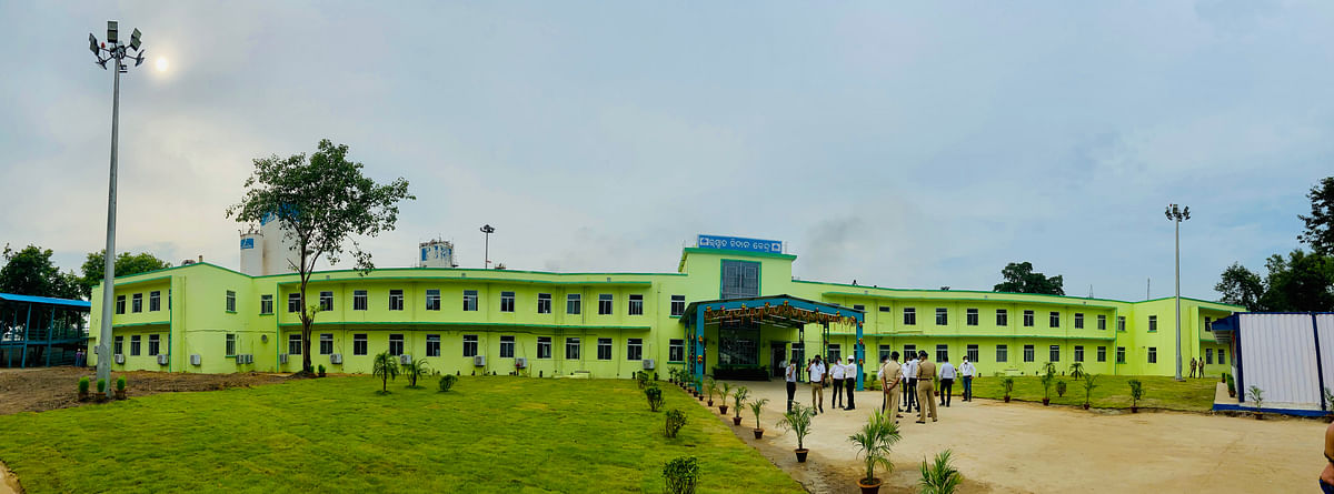100 Bed Covid Facility Opens at SAIL RSP