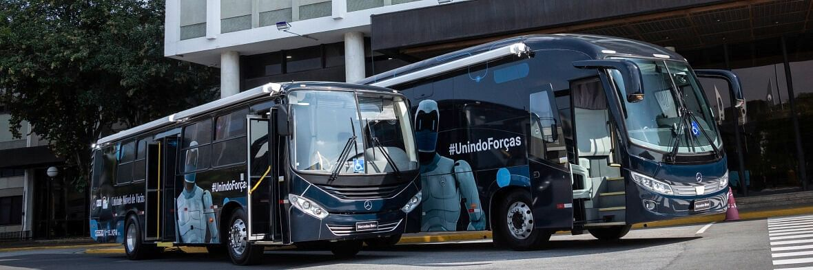 Mercedes-Benz Supports Brazilian Red Cross with 2 Mobile Units