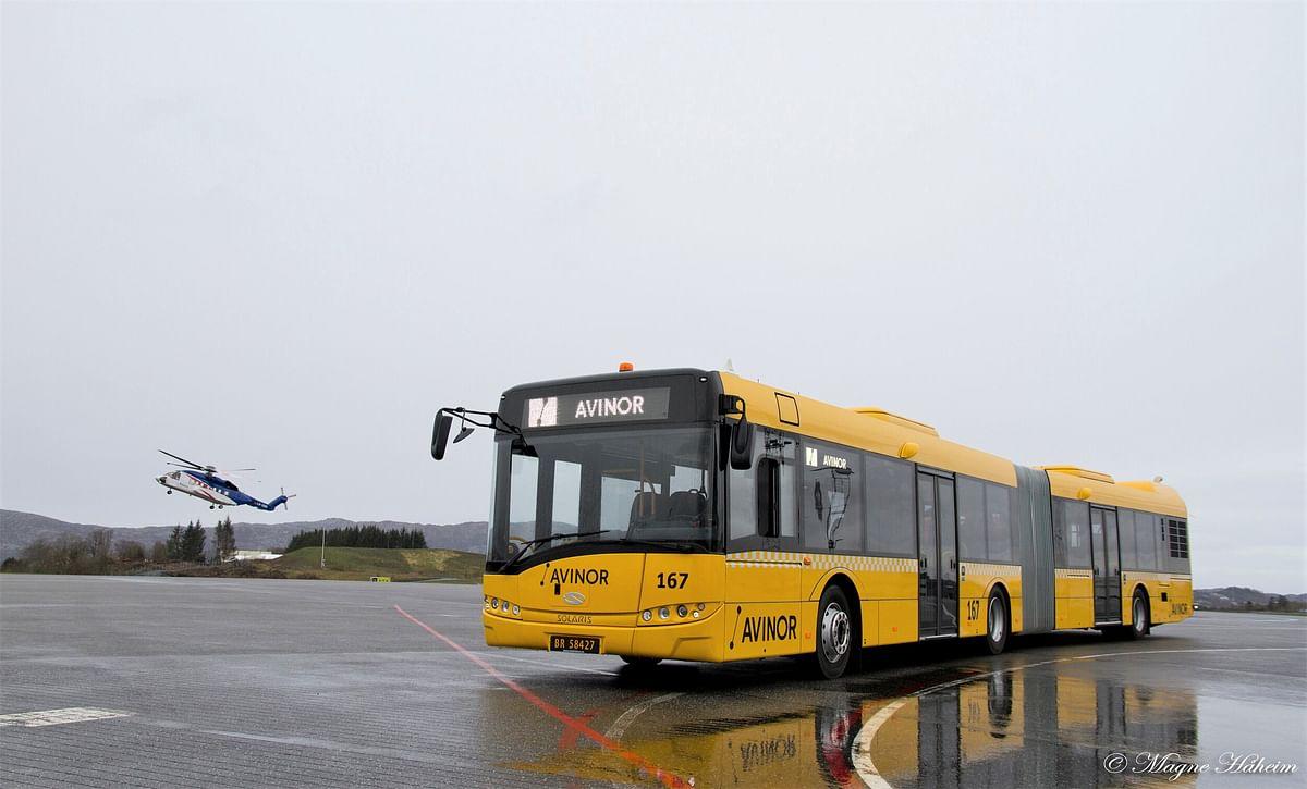 Solaris Urbino 12 Bus at Gateway to Arctic