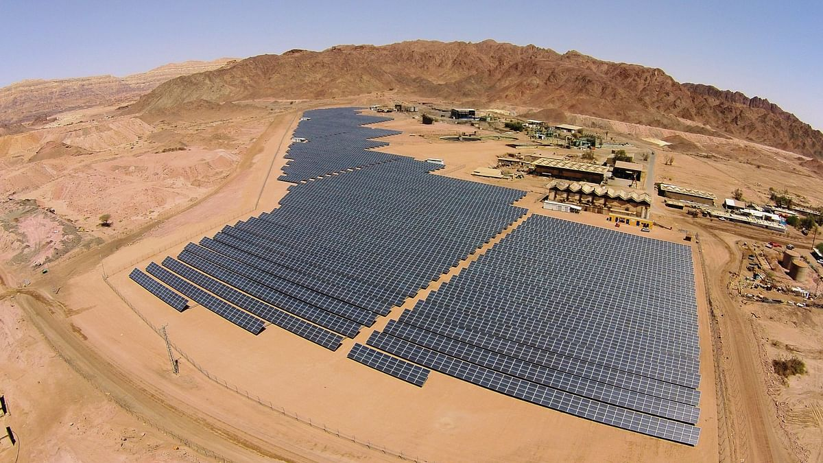 EDF Renewables Commissions Timna Solar Power Plant in Israel