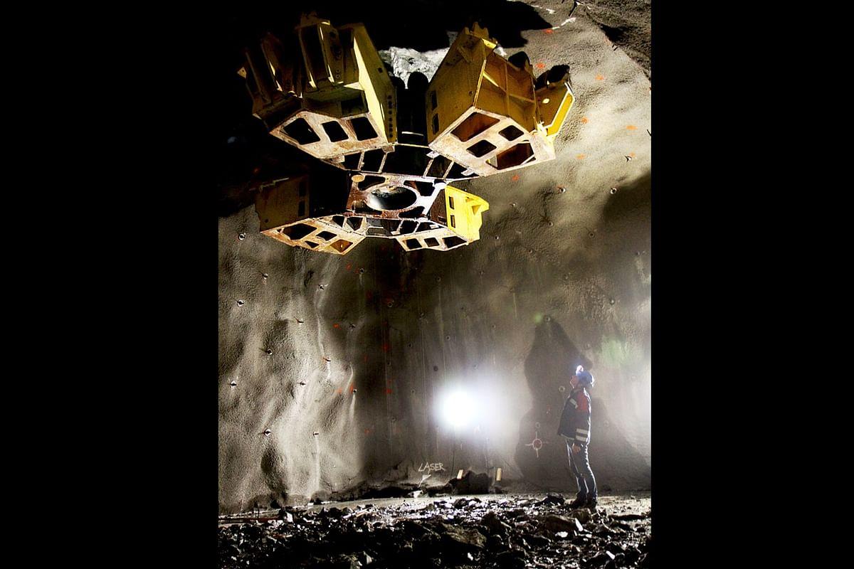 LKAB Develops New Mining Method Raise Caving