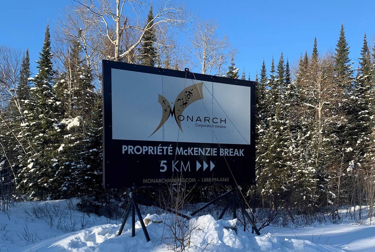 Monarch Mining Expands McKenzie Break Mineralized Envelope