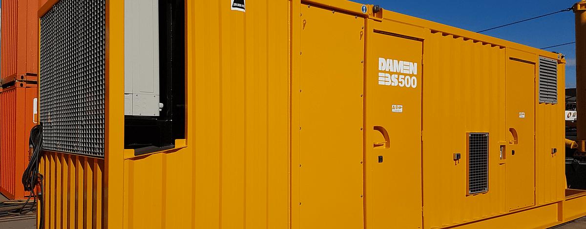 Damen Electrical Booster Stations to Johann Bunte Bauunternehmung