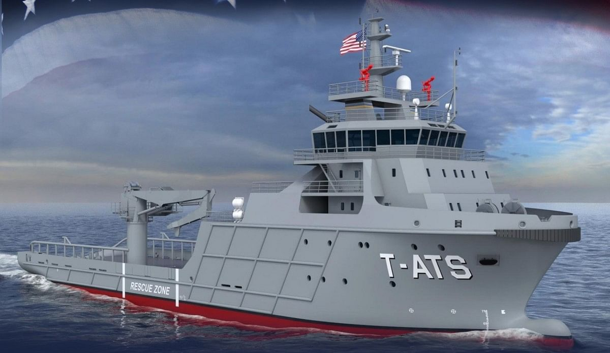 Austal USA to Design Towing, Salvage & Rescue Ship for US Navy