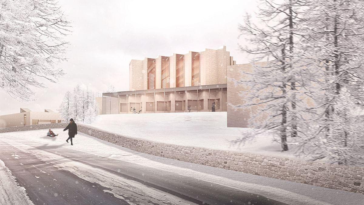 Henning Larsen to Design Skanderborg Højvangen Church