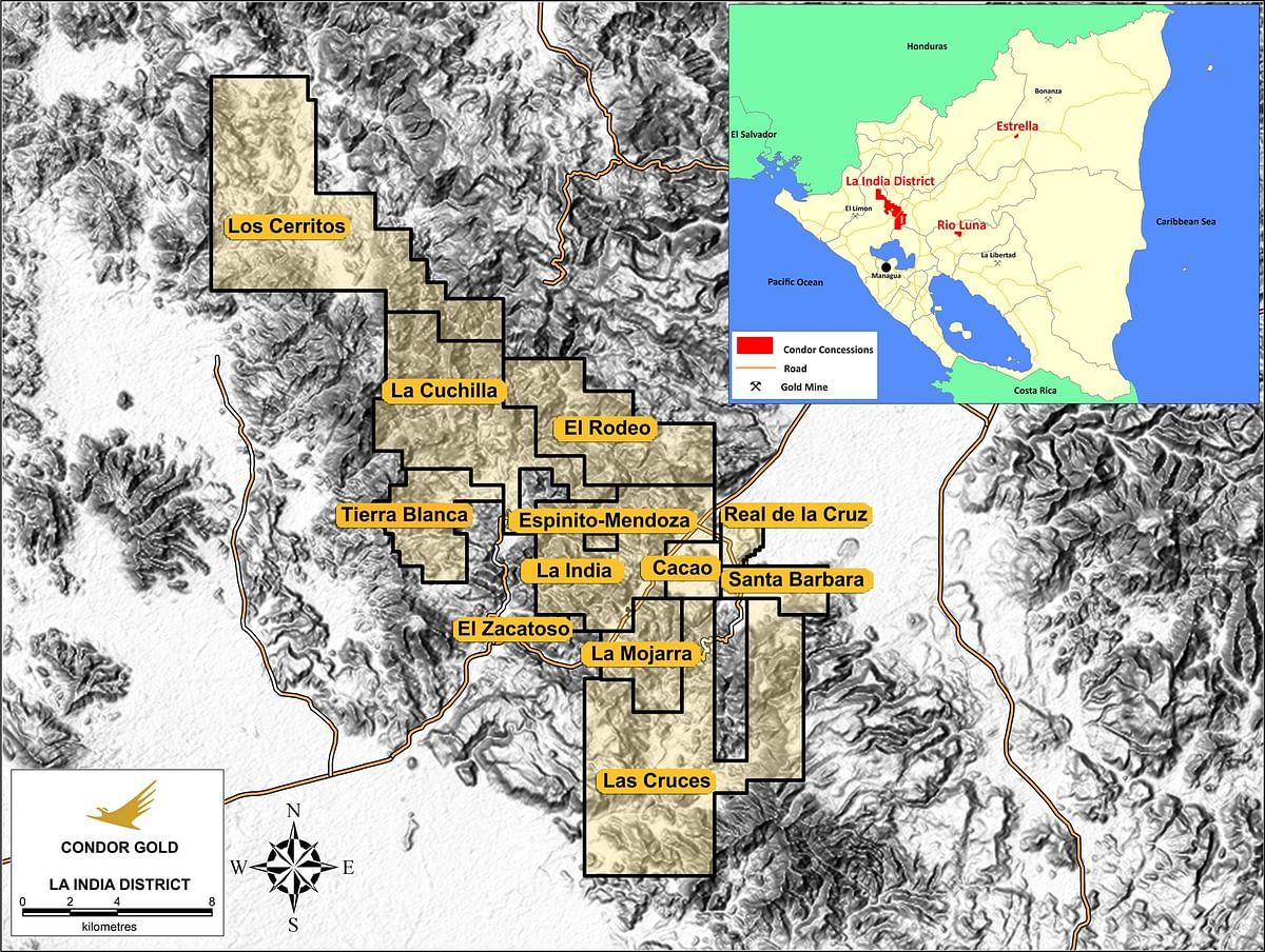 Condor Gold Update on La Mestiza Open Pit in Nicaragua
