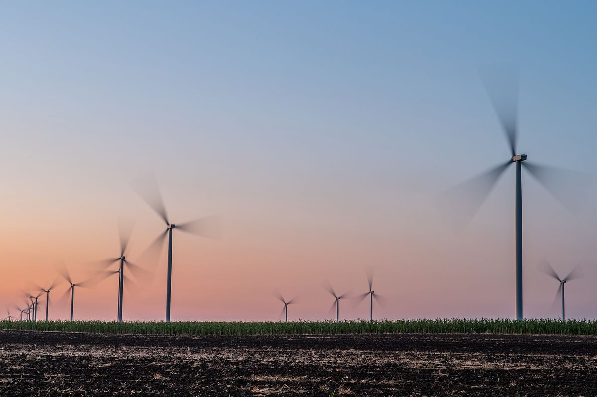 GE & Continuum Green Energy Sign for Wind Power Project in India