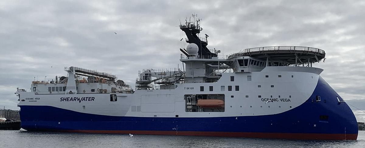 Shearwater GeoServices Starts 3D Survey for ION Geophysical