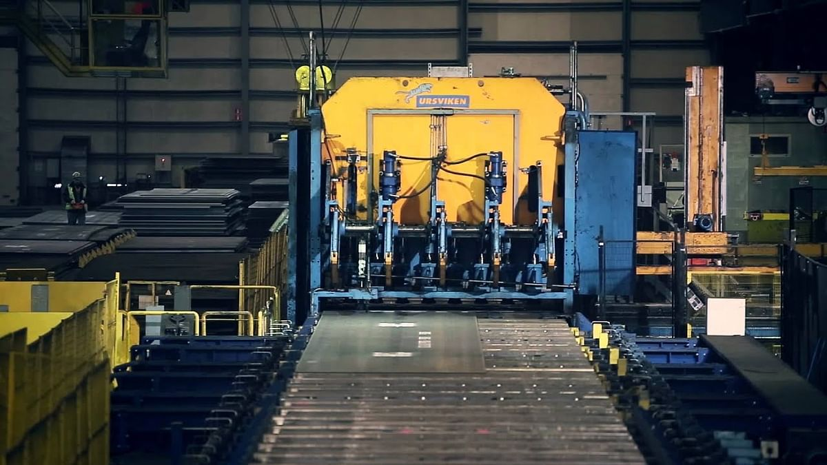 NLMK Clabecq Modernizing Plate Mill in Belgium
