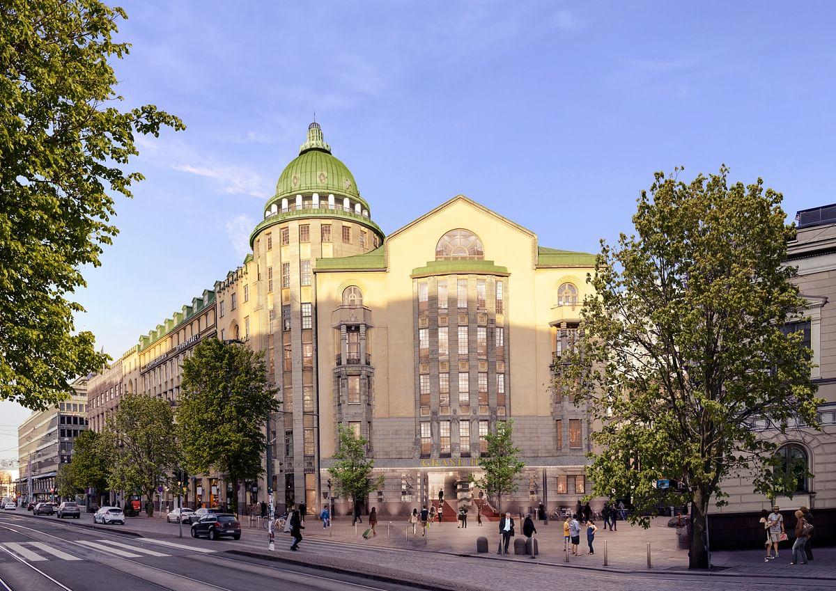 Skanska to Renovate Historical Building into hyatt in Helsinki