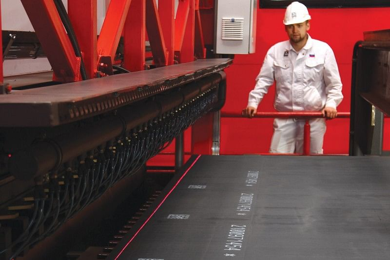 TMK Implements Laser Quality Control System for Sheet Metal