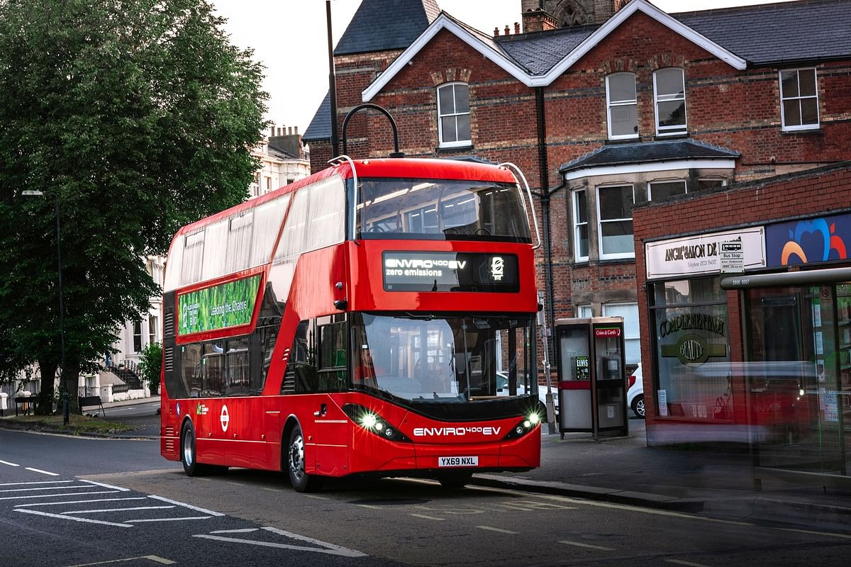 RATP Dev London Orders 195 Electric Buses from BYD ADL