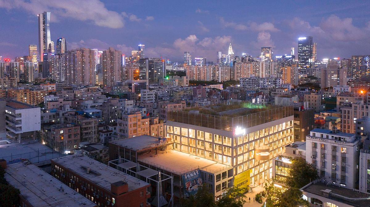 MVRDV Designed Idea Factory Opens in Nantou in Shenzhen