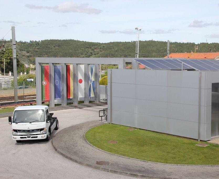 Daimler Trucks FUSO Plant on CO2 Neutral Track