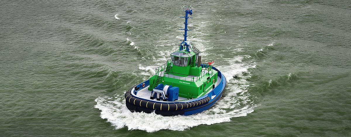 Damen Reaches Major Milestone in Fully Electric Tug Project