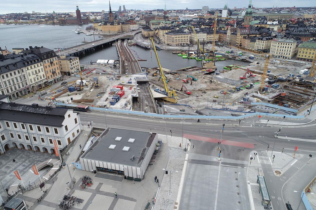 Skanska Bags Additional Contract at Slussen in Sweden