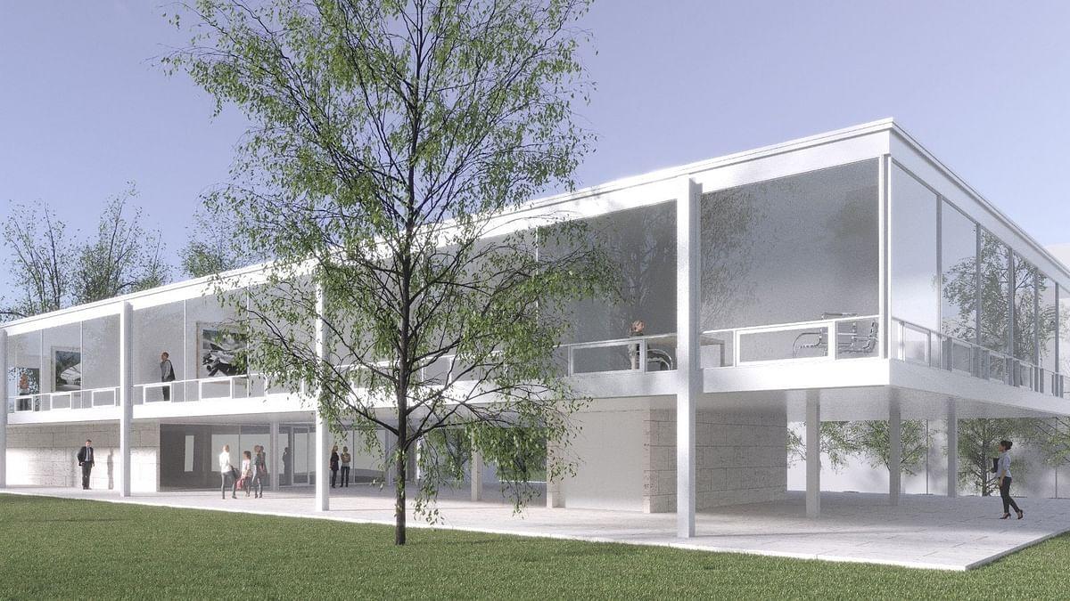 Indiana Univ Adopts Mies van der Rohe's Lost Design  School of Art