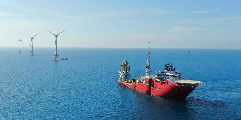 Jan De Nul Completes Wind Turbines Installation  TPC Offshore Wind