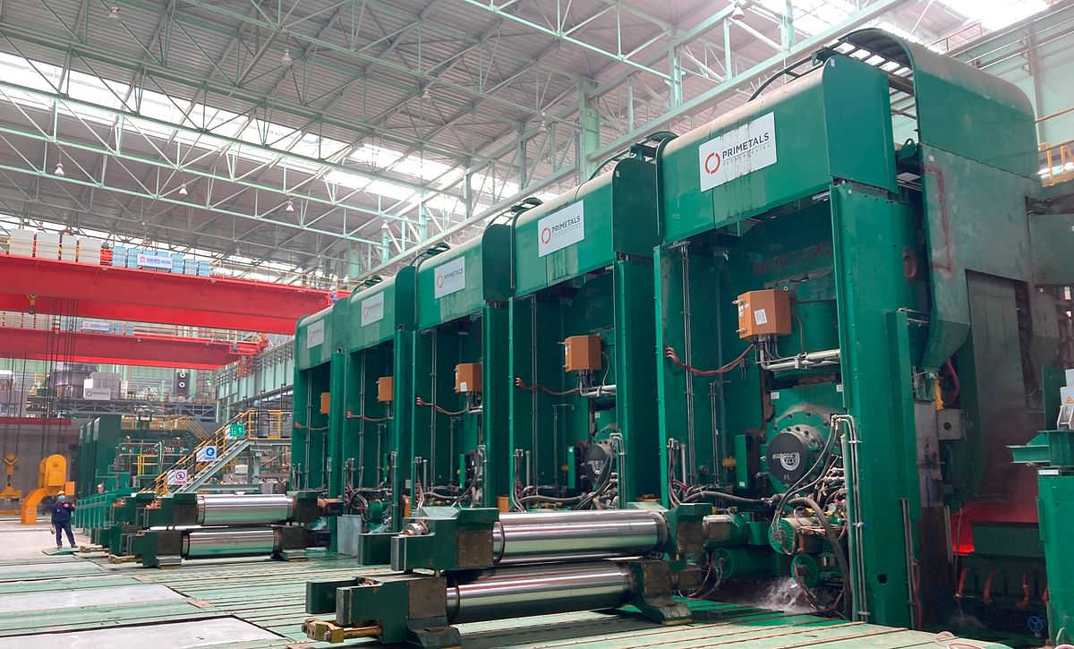 First Coil Produced at Arvedi ESP Line in Hebei Province in China