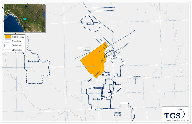 TGS Bags Onshore 3D Seismic Survey in Montney Basin