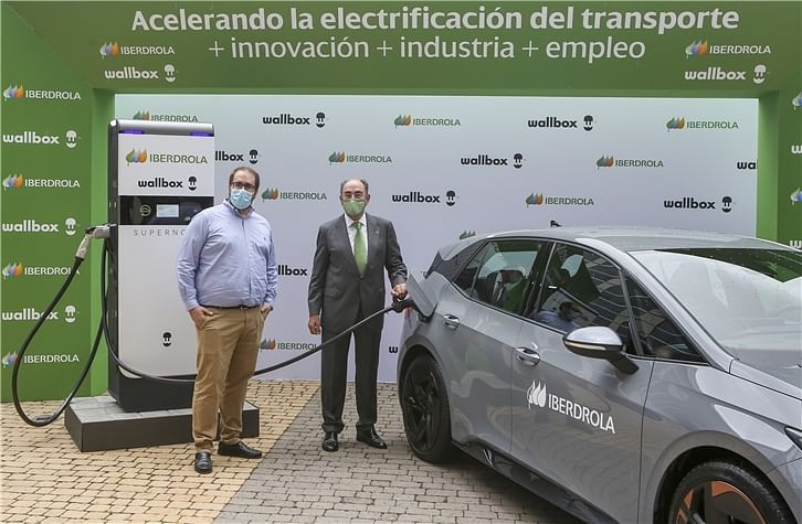 Iberdrola Acquires 1,000 Supernova EV Chargers from Wallbox