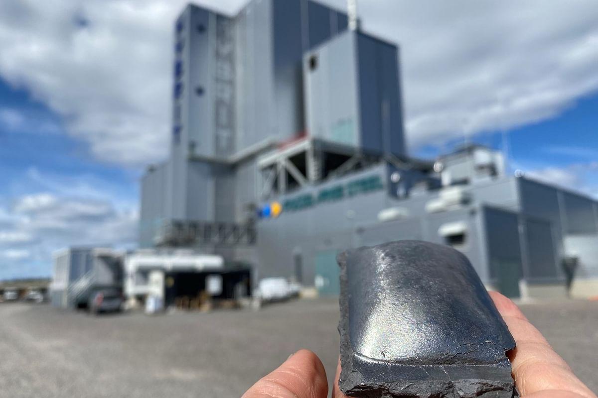 HYBRIT Pilot Project Produces Hydrogen Reduced Sponge Iron