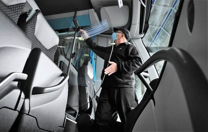 Daimler Equips 5000 Buses with Filters & Protective Doors