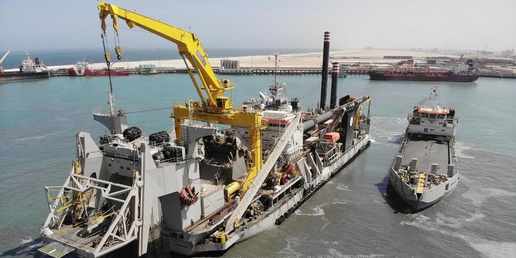 Cutter Suction Dredger Willem van Rubroeck Embarks to Mauritania