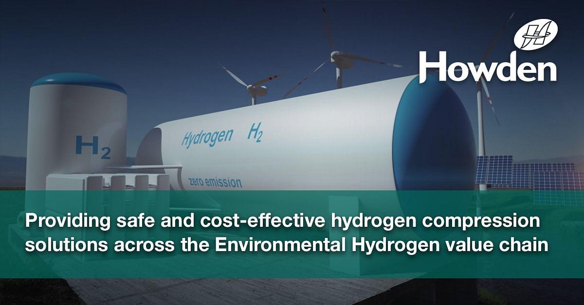Howden to Supply Hydrogen Storage Compression Plant to HYBRIT