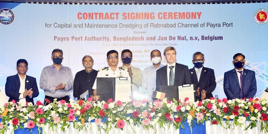 Jan De Nul Bags Next Dredging Phase Contract from Payra Port
