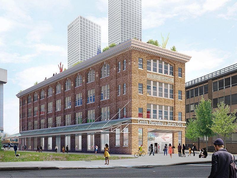 OMA & Jason Long to Design Centre Pompidou x Jersey City