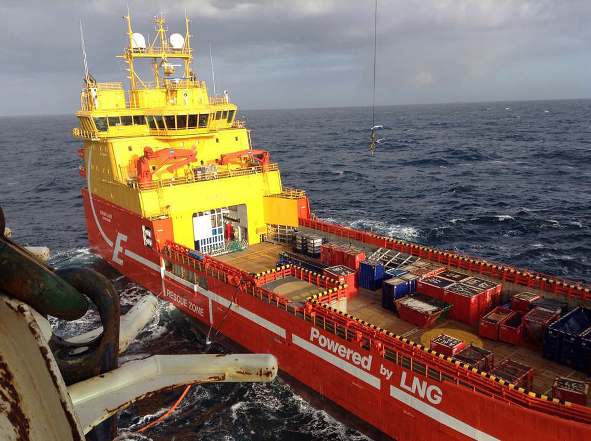 Aker BP Reduces CO2 Footprint from Supply Vessels