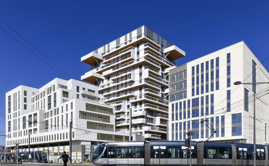 Eiffage Hands Over Hypérion Tower in Bordeaux in France