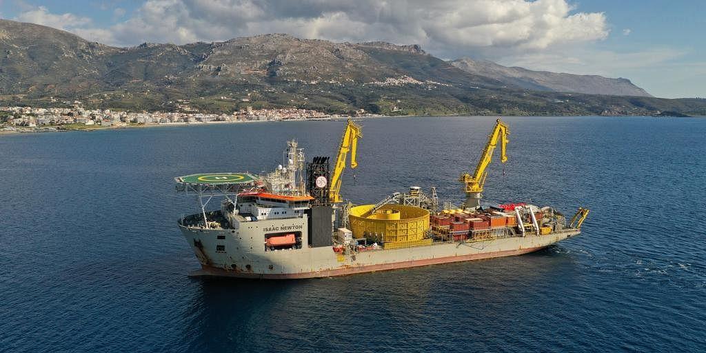 Jan De Nul Connects Crete to Greek Mainland