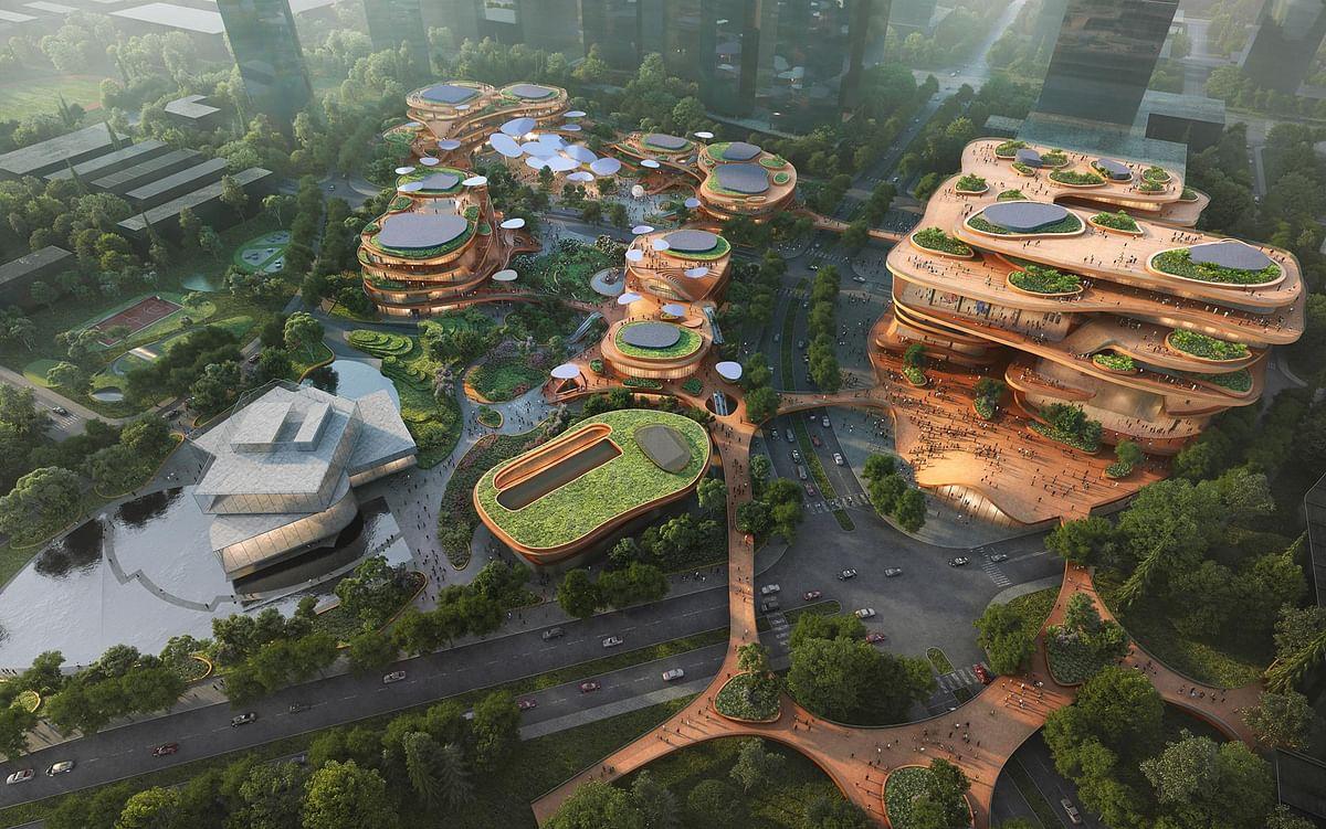 MVRDV Designed Shenzhen Terraces Begins Construction