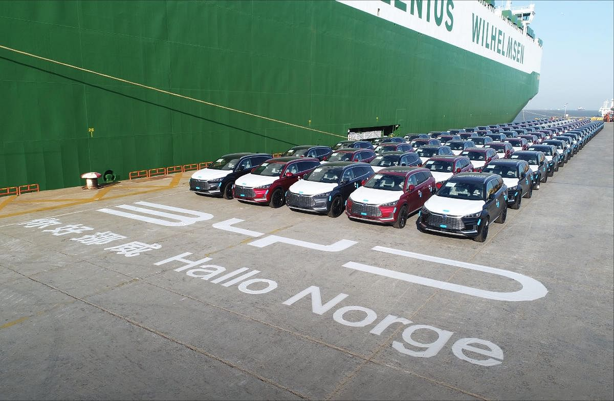 BYD Ships BYD Tang SUV for Norway