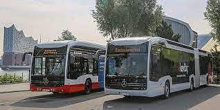 Mercedes-Benz eCitaro G Buses for HOCHBAHN & VHH