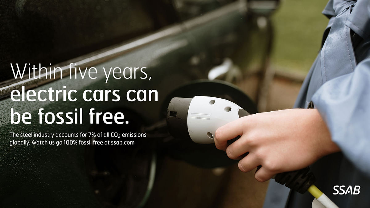 SSAB Launches Fossil Free Steel Campaign