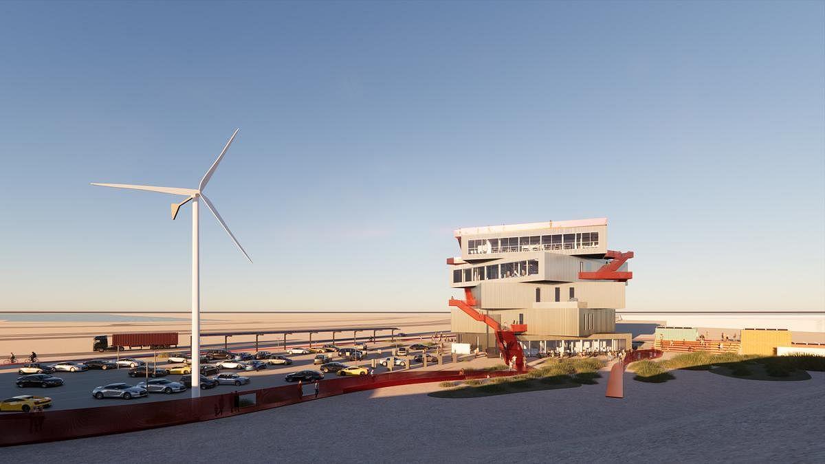MVRDV Designs Harbour Experience Centre at Port of Rotterdam