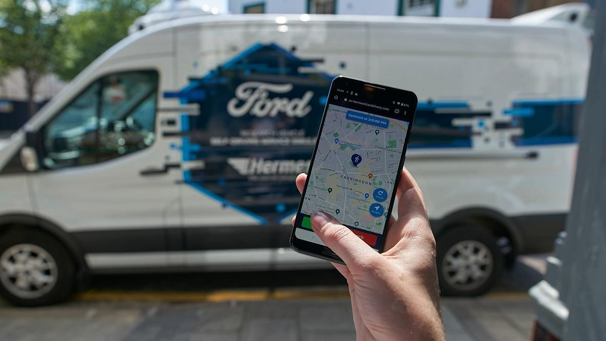 Ford & Hermes Explore Future of Doorstep Deliveries