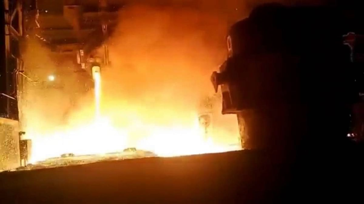 2 Accidents at Steel Mills in Raigarh & Jalna Injure 15 Workers