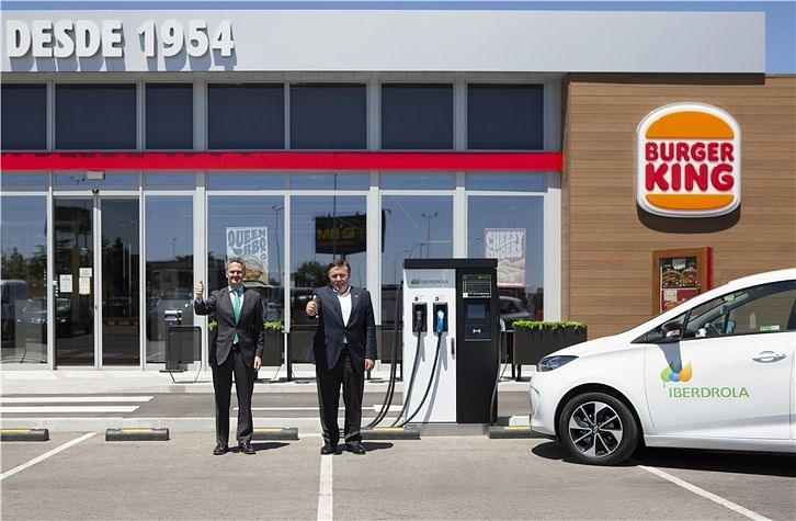 Iberdrola to Install EV Charging Points in RB Iberia Restaurants