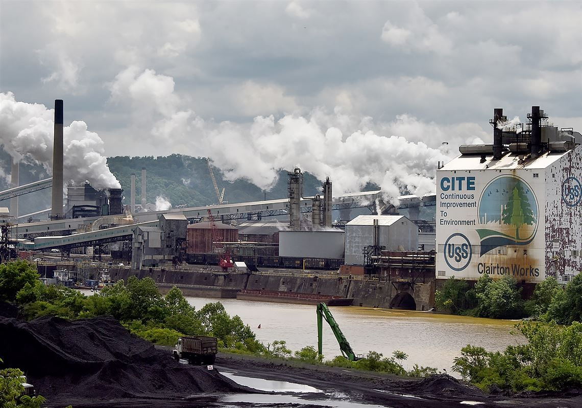 US Steel Fined for Air Pollution at Clairton Coke Works