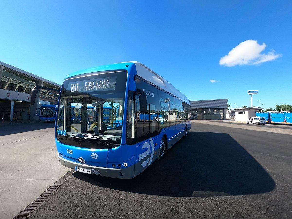 BYD Delivers 30 eBuses to Madrid EMT in Spain