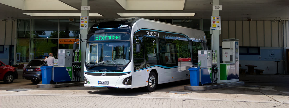 Trial for Hyundai's H2 Powered Elec City Fuel Cell Bus in Munich