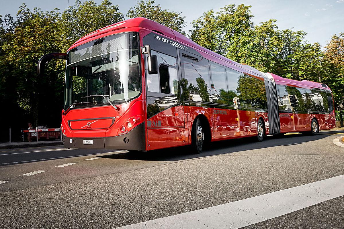 36 Hybrid Volvo Buse Order for BERNMOBIL in Switzerland