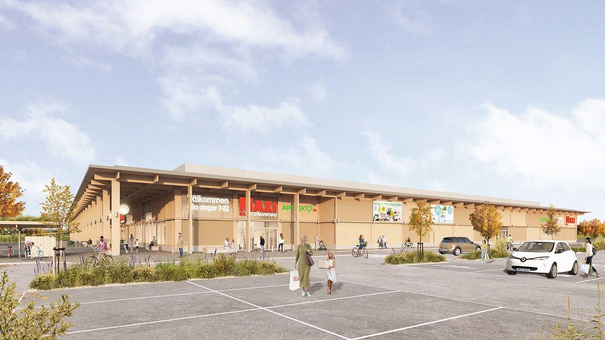 Peab to Build New Shopping Center in Åkersberga in Stockholm
