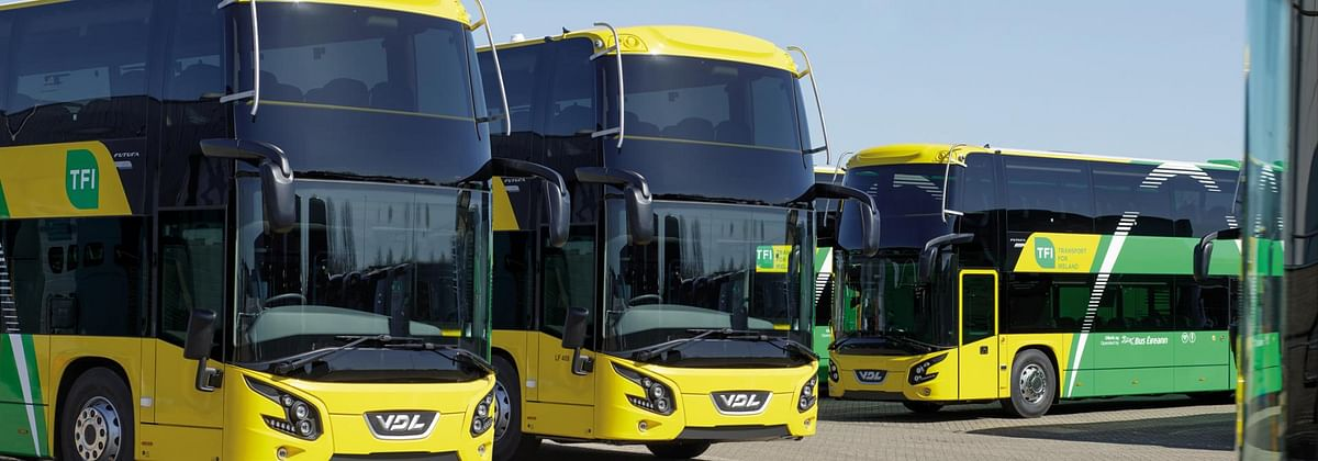VDL Starts Delivery of Futuras Double Dcekers to NTA in Ireland