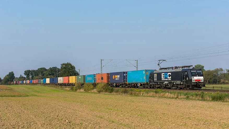 AP Moller Maersk's First Block Train from Southern Europe to Asia